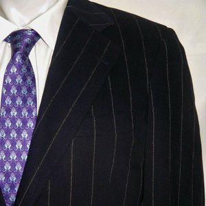 Paul Stuart Cashmere Blend Two Button Suit 39R